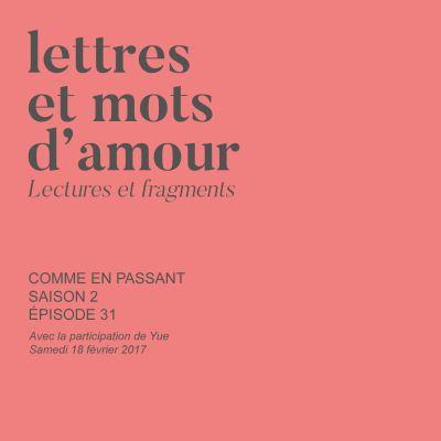 image Lettres et mots d'amour