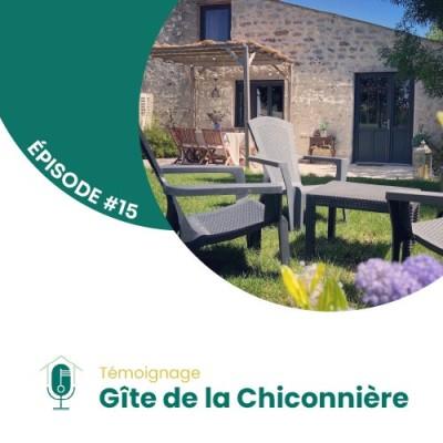 #15 - Rencontre avec Anne-Laure Roullet du gîte de la Chiconnière cover