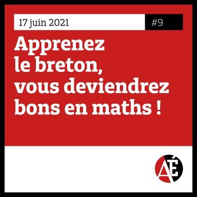 #9 Apprenez le breton, vous deviendrez bons en maths ! cover