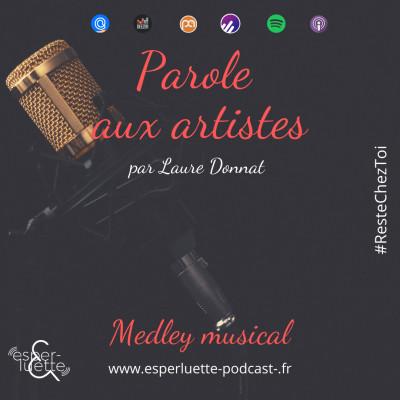 Medley musical avec Laure Donnat - Parole aux artistes #ResteChezToi cover