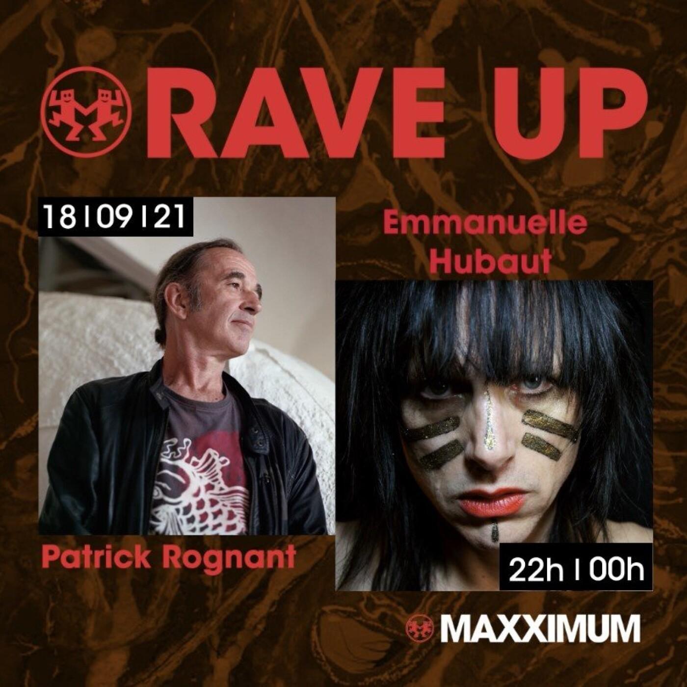 RAVE UP : EMMANUELLE HUBAUT