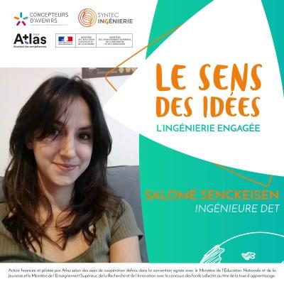 FEMINISATION - Salomé Senckeisen, ingénieure DET cover