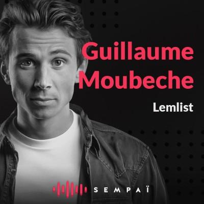 Lemlist avec Guillaume Moubèche cover
