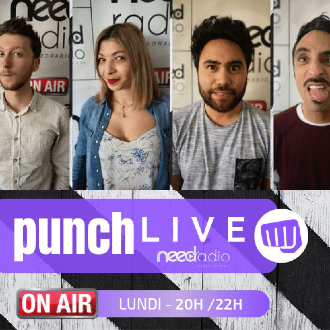 Punch Live (avec Quentin et son équipe) (16/09/19)