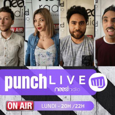 Punch Live (avec Quentin et son équipe) (16/09/19) cover