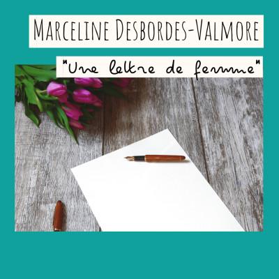 11 - « Une lettre de femme », Marceline Desbordes-Valmore cover