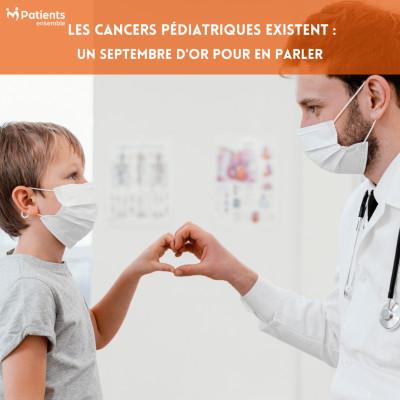 PODCAST 128 - Les Cancers Pédiatriques existent : un Septembre d'Or pour en parler cover