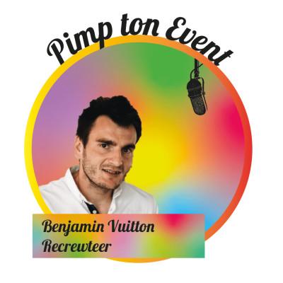 #10 Benjamin Vuitton - Recrewteer pour gérer les bénévoles, simplement cover