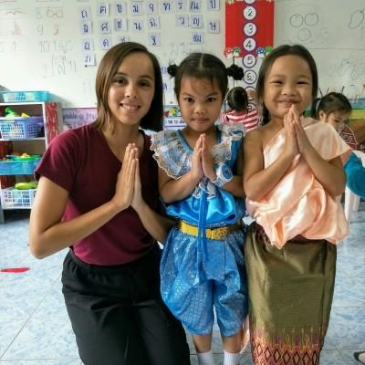 Alizé, Volontaire Bambou en Thailande - 2020 cover
