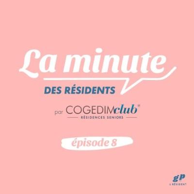 La Minute des Résidents #8 - Michel cover