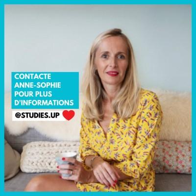 Anne-Sophie, responsable de StudiesUP, aide les étudiants à faire leurs études à l'étranger - 01 04 21 - StereoChic Radio cover