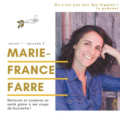 L'alimentation santé avec Marie-France Farre cover