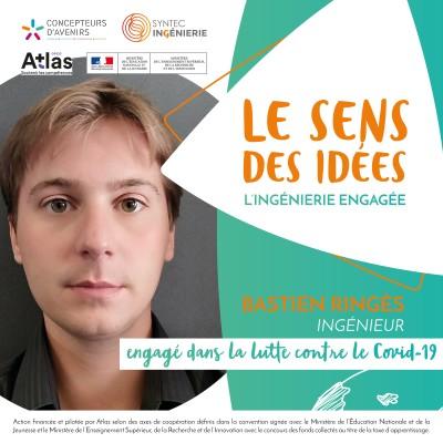 COVID-19 - Bastien Ringès, ingénieur engagé imprime en 3D des visières solidaires cover