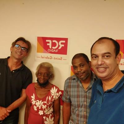 Émission le vivre ensemble en Guyane Invite Jean-David Poquet président Ges Aprosep Thème la vie associative cover