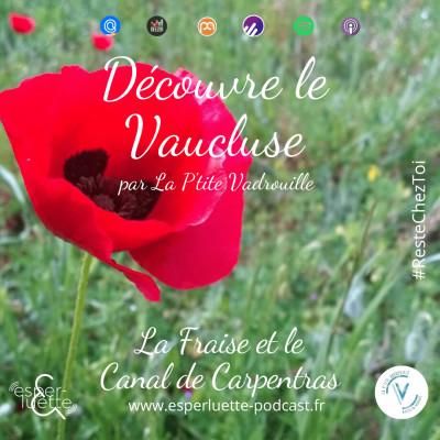 La Fraise et le Canal de Carpentras par la P'tite Vadrouille - Découvre le Vaucluse #ResteChezToi cover