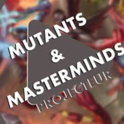 Projecteur - Mutants and Masterminds cover
