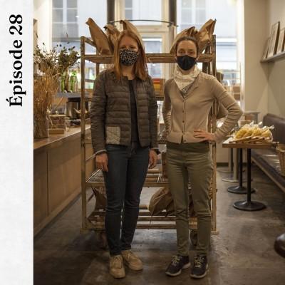 #28 | Apollonia Poilâne & Capucine Epagneau - Les rencontres qui nourrissent notre quotidien cover