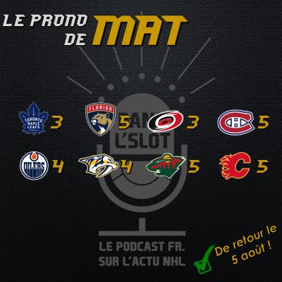 Playoffs NHL 2020 - Les pronos de Mat (Tour de qualification) cover
