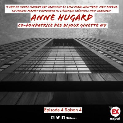 """Anne Hugard, co-fondatrice des bijoux Ginette NY """"Mon retour en France permet d'apporter ici l'énergie créatrice new yorkaise de la marque"""" cover"""