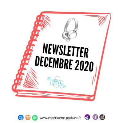Esperluette - Newsletter décembre 2020 cover