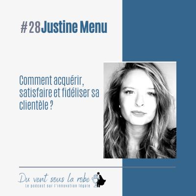 Comment acquérir, satisfaire et fidéliser sa clientèle ? – Justine Menu cover