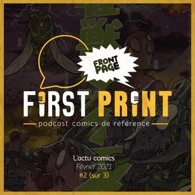 Front Page : l'actualité comics de Février 2021 #2 (sur 3) ! cover