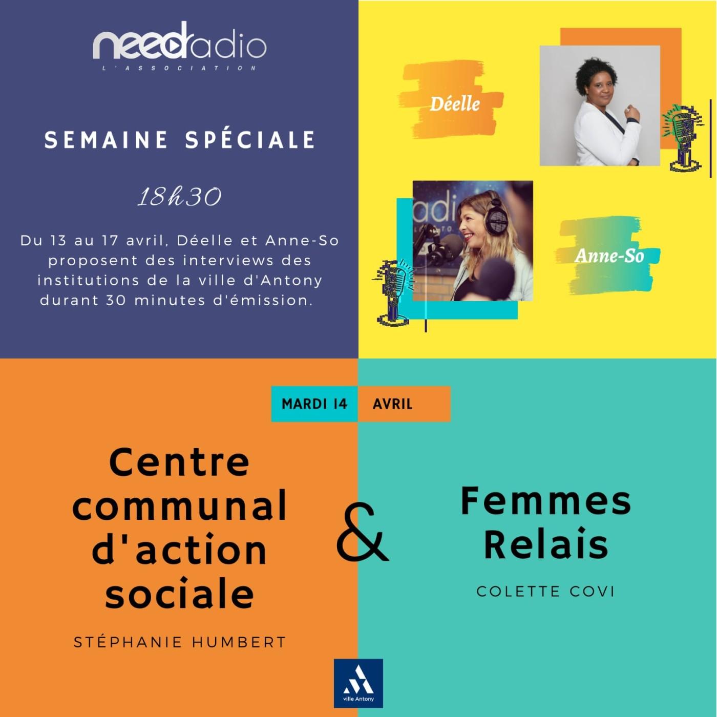#NRVDLP spéciale confinement - Les Femmes Relais et le CCAS (14/04/20)