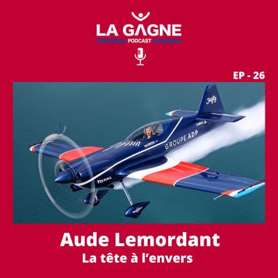 EP 26 - Aude Lemordant, La Tête à l'envers cover