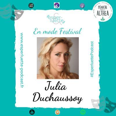 """image """"En mode Festival"""" - Julia Duchaussoy - J'irai danser avec les requins"""