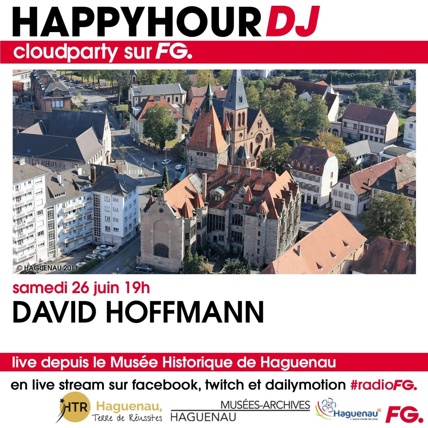 HAPPY HOUR DJ : DAVID HOFFMANN