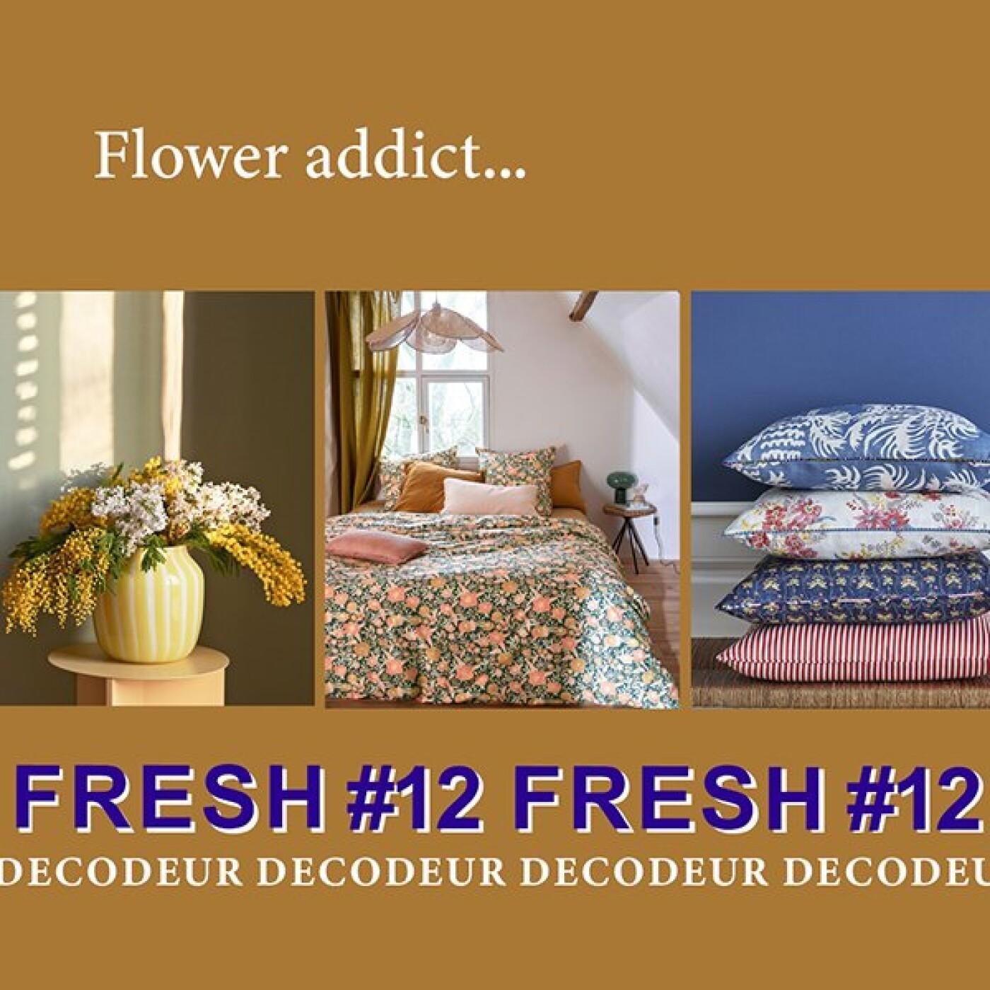 """FRESH #12 la tendance déco du mois : """"Flower addict"""" décrypté par le bureau de style LE NOMBRIL"""