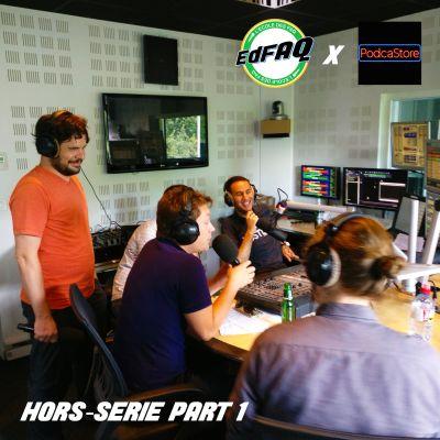 L'école des FAQ HS #2 Partie 1 - Podcast post production et animation  / Le podcast et la vidéo cover