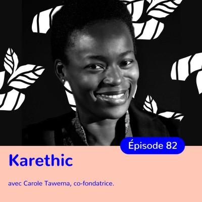 Carole Tawema, Karethic, sauver le monde grâce aux femmes africaines cover