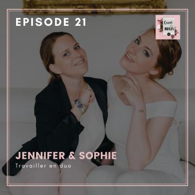 #21 - Jennifer et Sophie, travailler en duo cover