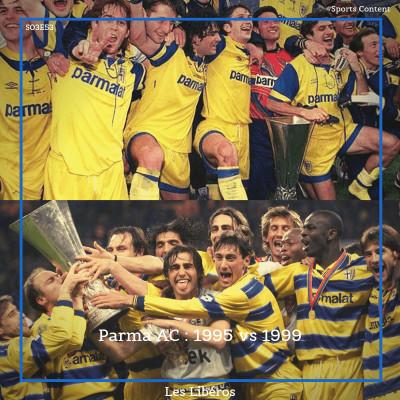 Parma AC : 1995 vs 1999 cover