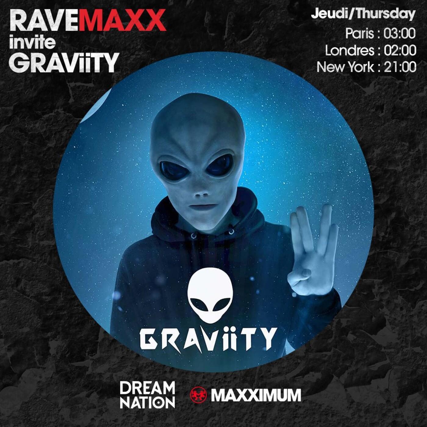 RAVEMAXX : DREAM NATION FESTIVAL AVEC GRAVIITY