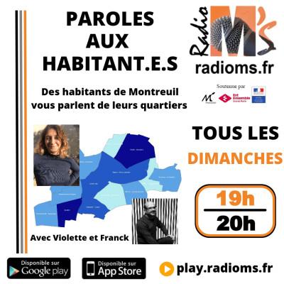 Paroles aux habitants #1 - Boissière, Ruffins, Bas-Montreuil, Villiers - Barbusse cover