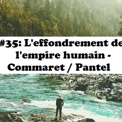 #35 : L'effondrement de l'empire humain - Commaret & Pantel cover