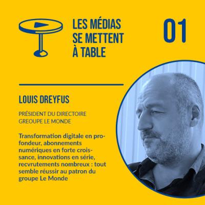 Louis Dreyfus (Le Monde) - Les abonnements numériques financent quasiment la rédaction cover
