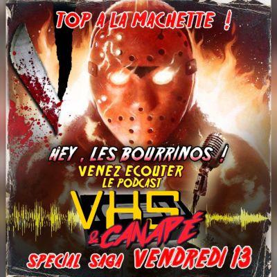 Friday the 13th, la saga... Top à la machette cover