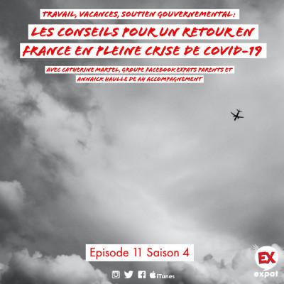 Travail, vacances, soutien gourvernemental : Les conseils pour un retour en France en pleine crise de Covid-19 cover