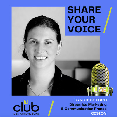 SHARE YOUR VOICE : CYNDIE BETTANT, CISION cover