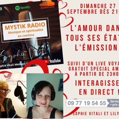 Image of the show L'amour dans tous ses états ! L'émission sur Mystik Radio