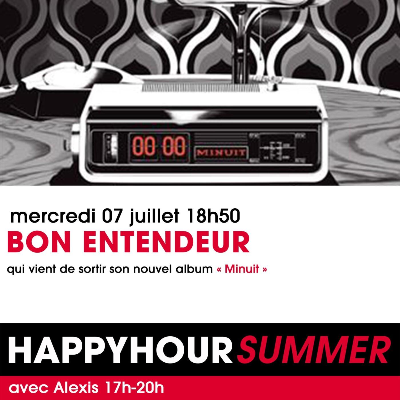 L'INTERVIEW DES BON ENTENDEUR DANS L'HAPPY HOUR FG