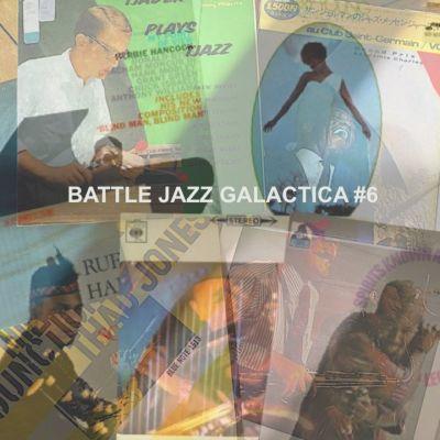 BATTLE JAZZ GALACTICA #6 cover