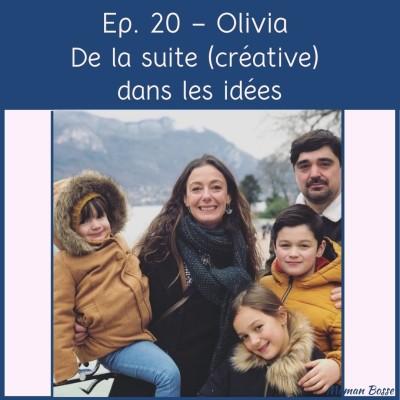Olivia - De la suite (créative) dans les idées cover