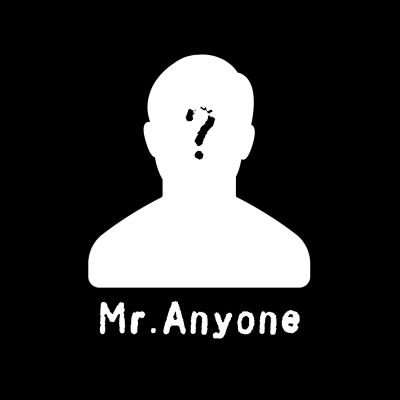 Mr Anyone cover