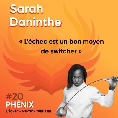 #20 🤺 - Sarah Daninthe : L'échec est un bon moyen de switcher cover
