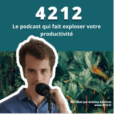 4212 - Le podcast sur la productivité cover