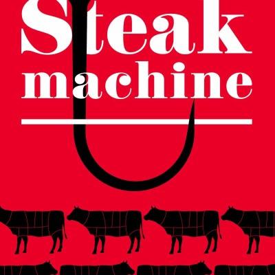 Steak machine - Geoffrey Le Guilcher cover